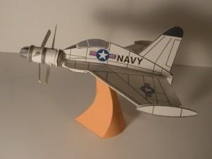 【展示作品】変な形の紙飛行機